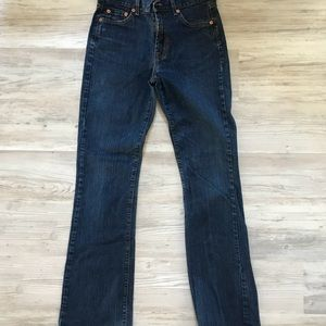Lucky Brand Dungarees zip fly boot cut 6/28